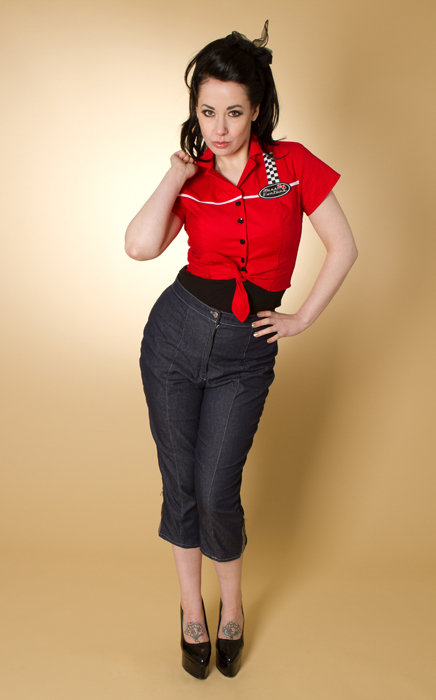 greaser girl capri hose