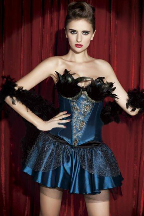 resize_sexy-shining-two-piece-peacock-corset-skirt-set-lc5319