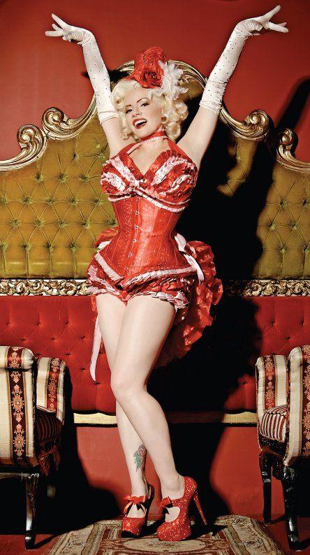 burlesque kostuums