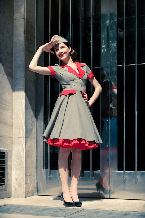 pin up army jurk