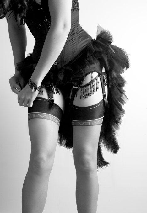 burlesque jarretel
