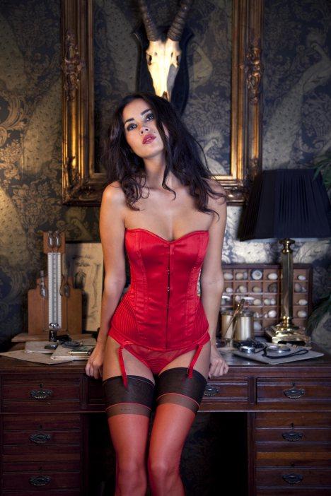 corset & jarretel