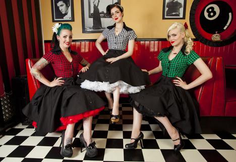 petticoat jurken