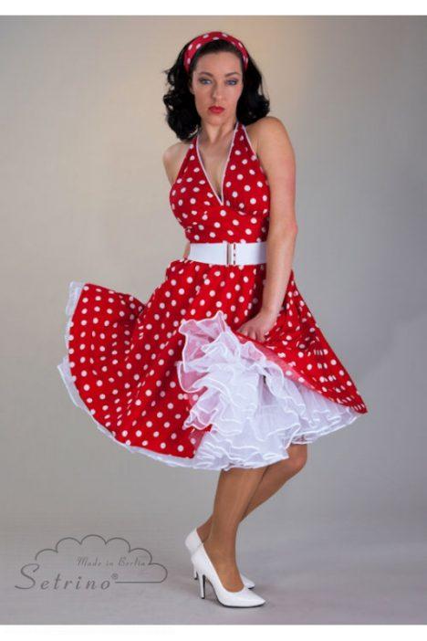 polkadot-Petticoatjurk