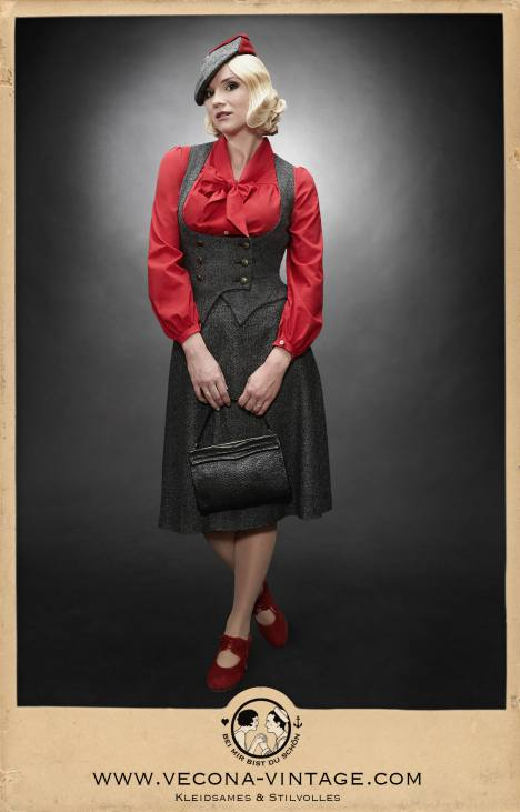 vecona vintage jaren 20 tot jaren 40 vintage kleding. Black Bedroom Furniture Sets. Home Design Ideas