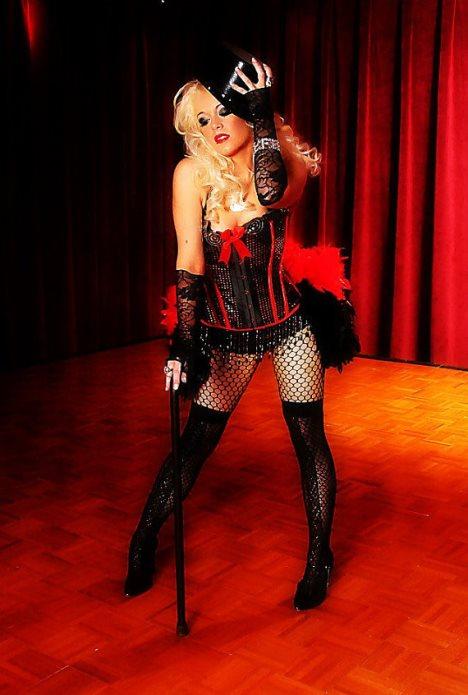 burlesque korset