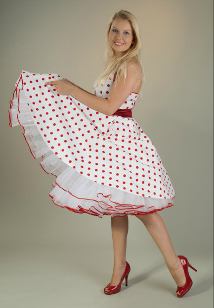 petticoat swing dress
