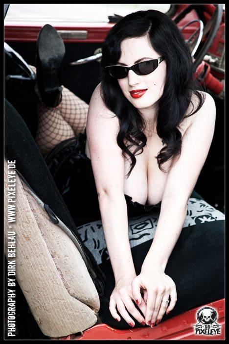 retro zonnebrebrille