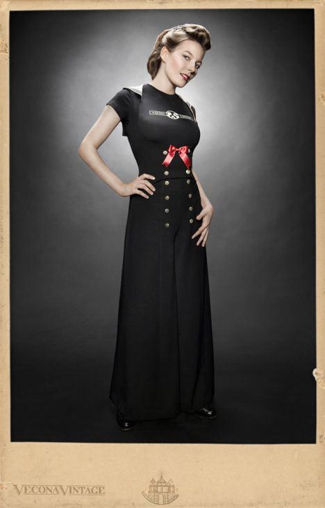 vecona vintage matrosen outfit