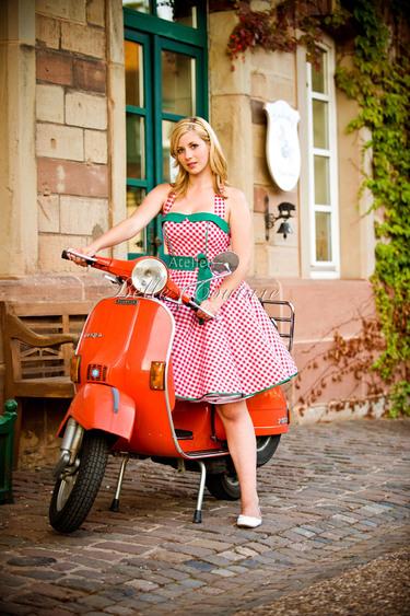 jaren 50 jurk atelier belle couture