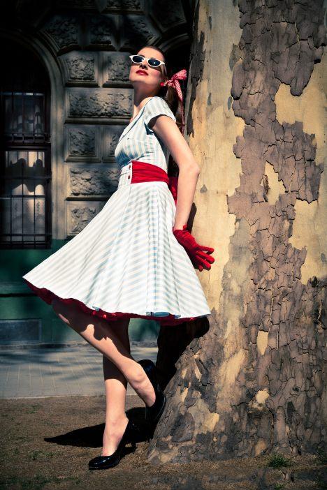 jaren 50 jurk ticci rockabilly