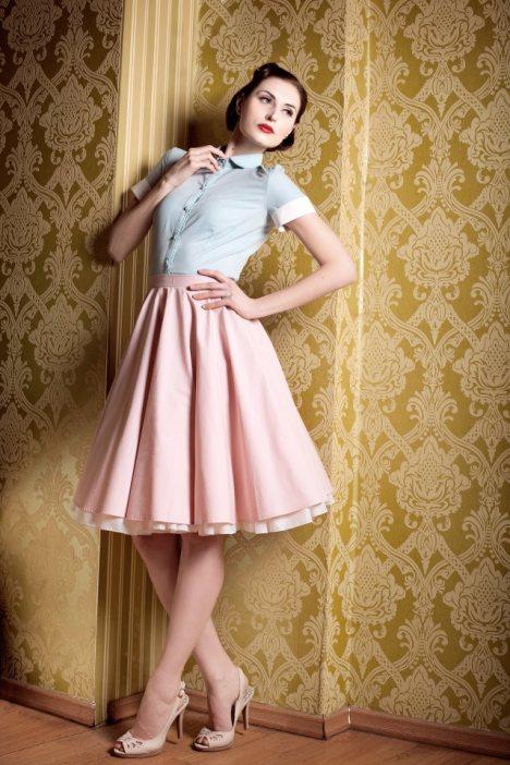 jaren 50 jurk yvonne warmbier