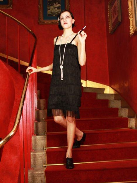 jaren 20 kleding flapper jurk